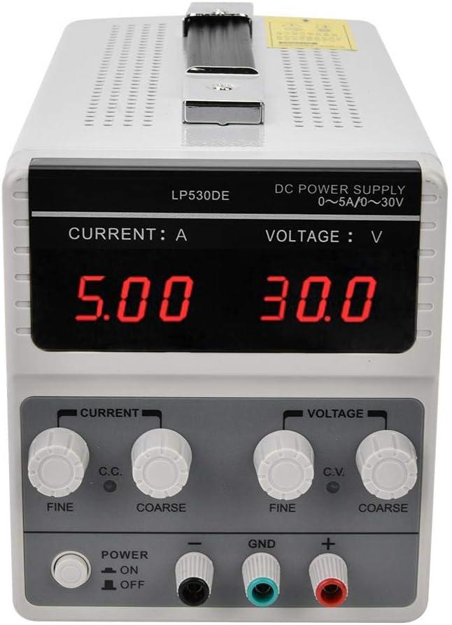 30V 5A Adjustable DC Stabilizer Power Supply Switchable DC Regulator 110//220V US