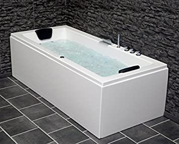 Whirlpool Badewanne Venedig MADE IN GERMANY rechts oder: Amazon.de ... | {Eckbadewanne maße 160 35}
