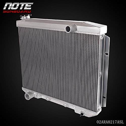 - Aluminum Racing Cooling Radiator Replacement For Ford Fairlane/Victoria/Ranchero/Skyline V8 1957 1958 1959 FORD Fairlane V8 Aluminum Racing Radiator CC5759