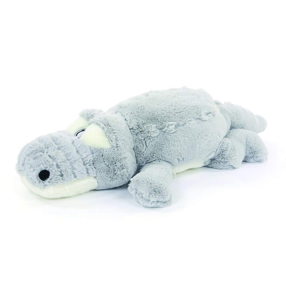 Grey 60cm 23.6'' Classic Accessories DIS Crocodile Plush Soft Stuffed Animal Toy Cuddly Doll (Grey 160CM 62'')