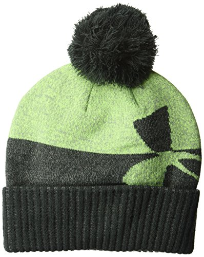 Under Armour Boys Pom Beanie, Anthracite (016)/Anthracite, One Size