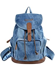 Epokris Womens Casual Canvas Backpack College School Daypack Teen Girl Cute Bag 117