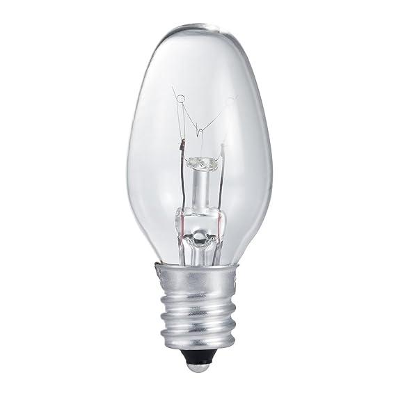 Philips 415422 Incandescent 16 Lumen 4 Watt 2700K Soft White C7 Night Light w/Candelabra Base (4 Pack) - Incandescent Bulbs - Amazon.com