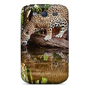 (oDPFb470Ezxhr)durable Protection Case Cover For Galaxy S3(thirsty Jaguar)