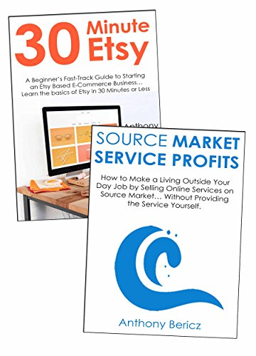 Download PDF Product & Service Seller Bundle - How to Make a Living Selling Products on Etsy & Providing Online Services on Source Market