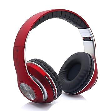 Gaming Auriculares Inalámbricos, Bluetooth Overhead Auriculares Ruido Perimetral Cancelación para PC/Nintendo Switch/PS4/Xbox Uno/iPhone/Teléfono Android ...