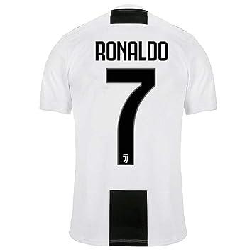 ERICK Fußball Trikots Ronaldo # 7 Juventus Home Jersey 20182019 Kinder Junge Herren