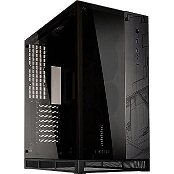 Amazon.com: Lian Li pc-o12wx negro/vidrio templado carcasa ...