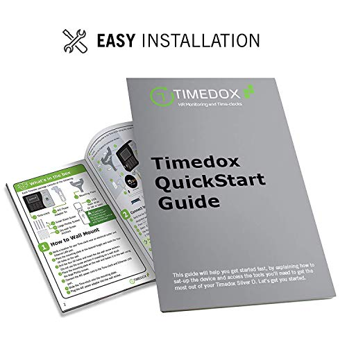 Timedox Silver D Biometric Fingerprint Time Clock for Employees   $0 Monthly Fee   One Time Payment for The Software Required   Include USB Flash Drive & Dynamic Reports Creator   USA Support by Timedox (Image #5)