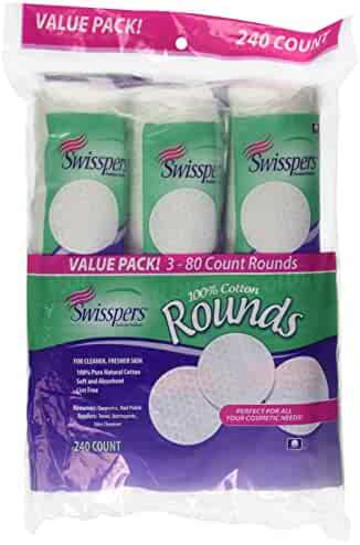 Swisspers Cotton Rounds 240 ct