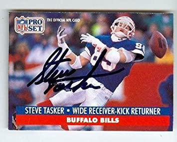Image Unavailable. Image not available for. Color  Steve Tasker autographed  football card (Buffalo Bills) 1991 ... 208f0e500