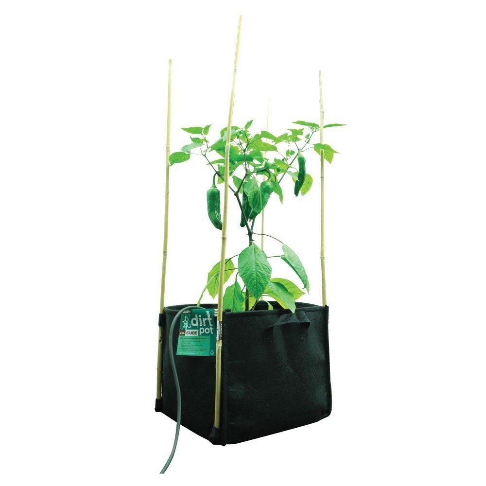 PLANT IT 01-010-470 - Bolsa de tela con base cuadrada, 17L: Amazon.es: Jardín