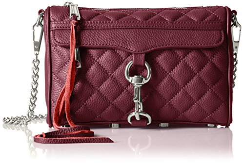 Rebecca Minkoff Quilted Mini Mac,Port,One Size