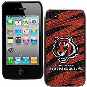 Team ProMark KIPH4FCNCTI1 Hard Case for iPhone 4 - 1 Pack - Retail Packaging - Cincinnati Bengals