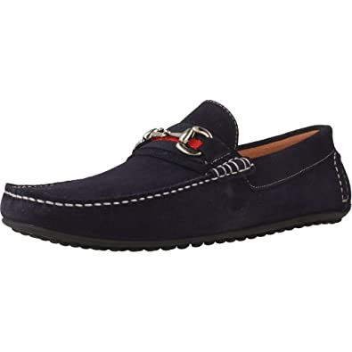Mocasines para Hombre, Color Azul, Marca SITGETANA, Modelo Mocasines para Hombre SITGETANA Kiowa Gucci Azul: Amazon.es: Zapatos y complementos