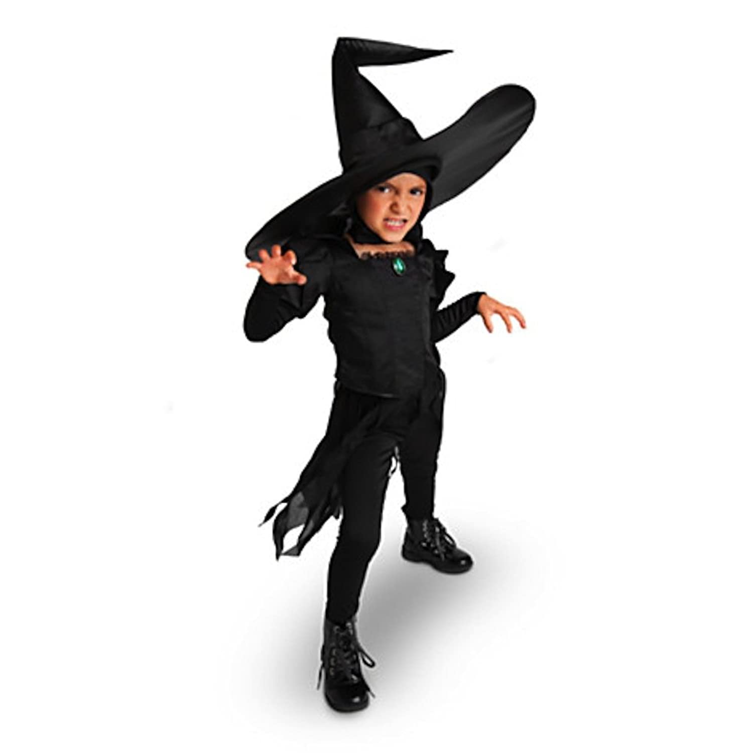 Amazon.com: Disney Store Deluxe Wicked Witch of the West Costume ...