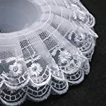 JETEHO-Pack-of-10-Lace-Bouquet-CollarLace-Collar-Bouquet-Holder-Wedding-Bridal-Bouquet-Collar-White-Lace-Decoration-Bouquet-Holder