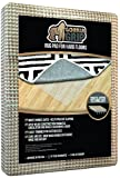 #7: Gorilla Grip Original Area Rug Gripper Pad, Made In USA, For Hard Floors, Pads Available in Many Sizes, Provides Protection and Cushion for Area Rugs and Floors