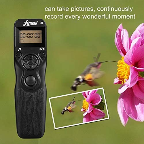 ZicHEXING-US Timer Remote Shutter Release Trigger for Nikon D90 D5000 D5200 D7100 D4 MC-DC2