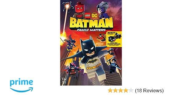 Amazon.com: LEGO DC: Batman: Family Matters w/ LEGO ...
