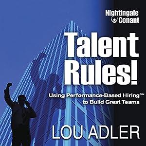 Talent Rules! Speech