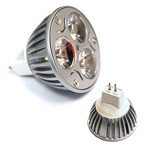CTKcom MR16 3W LED Bulb(6 Pack)-Warm White 2700K LED Bulbs