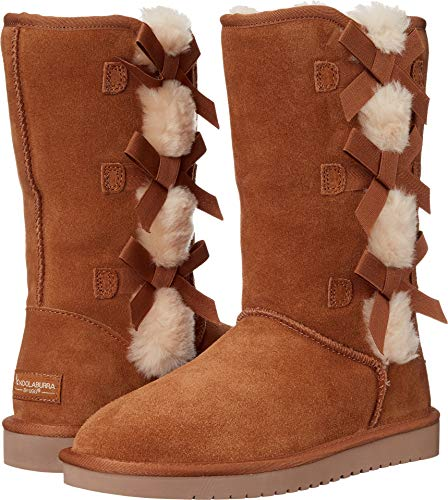 Boots Chestnut Koolaburra (Koolaburra by UGG Women's Victoria Tall Fashion Boot, Chestnut, 06 M US)