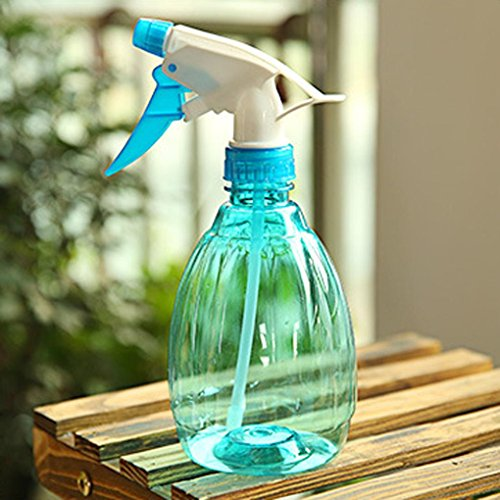Price comparison product image Alimao Empty Spray Bottle Plastic Watering The Flowers Water Spray For Salon Plants (Blue)