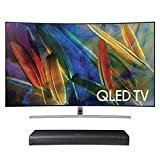 Samsung QN65Q7C 65 Curved 4K UHD HDR QLED Smart TV with UBD-M9500 4K Ultra HD Blu-ray Player