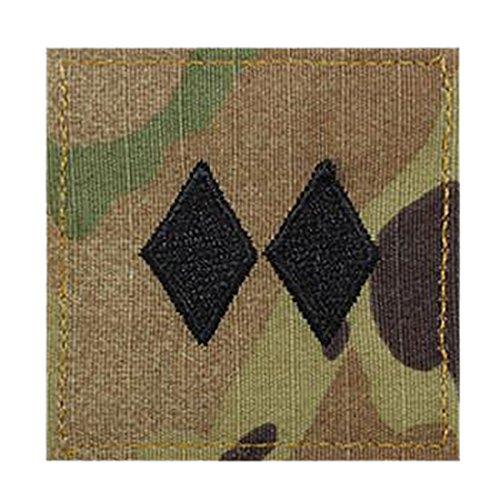 Army LTC ROTC Cadet Rank OCP Scorpion with HOOK Fastener-LIEUTENANT COLONEL (Insignia Rank Rotc)