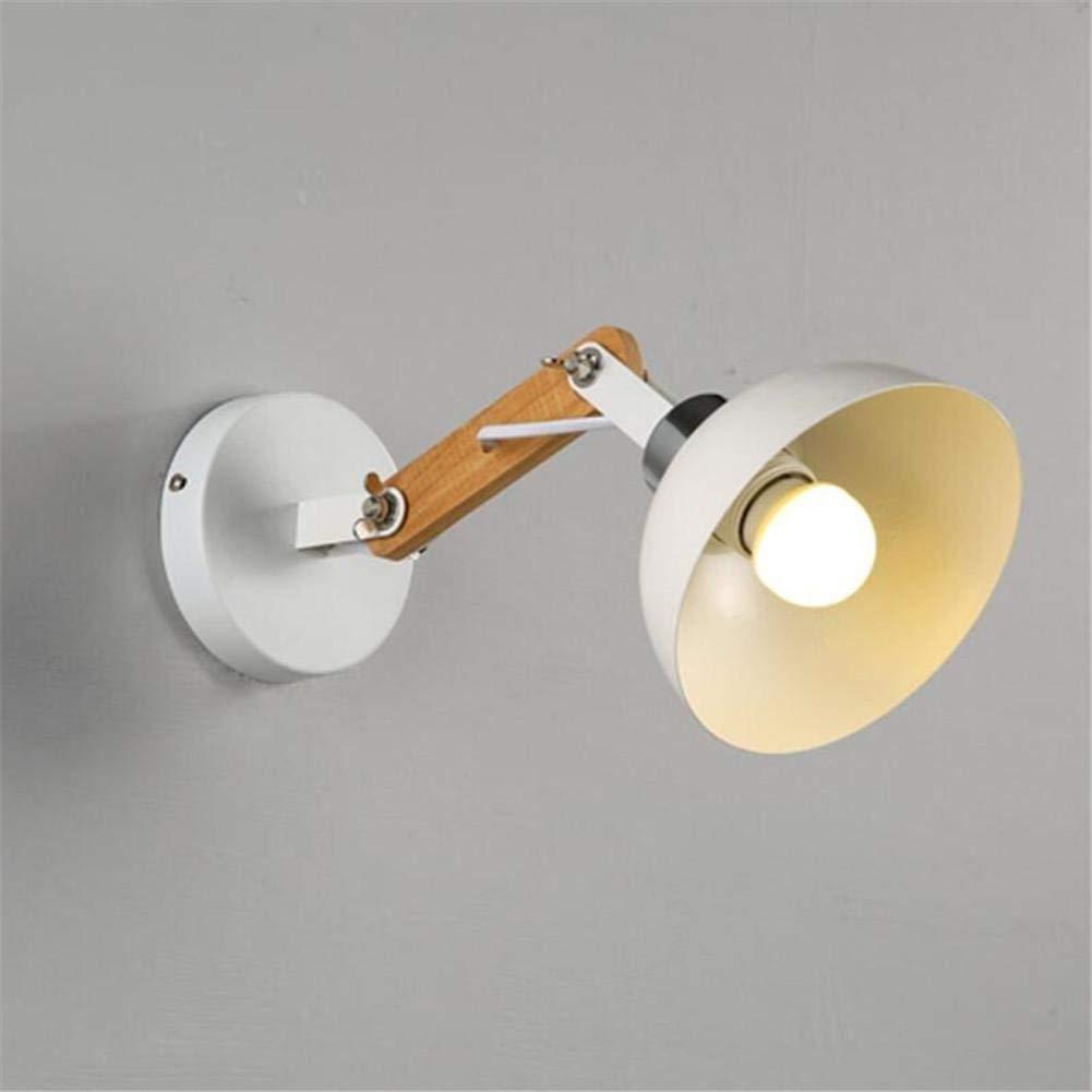 YWJWJ Moderne, einfache und kreative SpazierGänge Holz Treppenhaus Wohnzimmer Nachttischlampe (Dieser Artikel hat Keine Glühlampe)