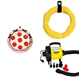 Sportsstuff Pizza Towable Rope and Pump Bundle