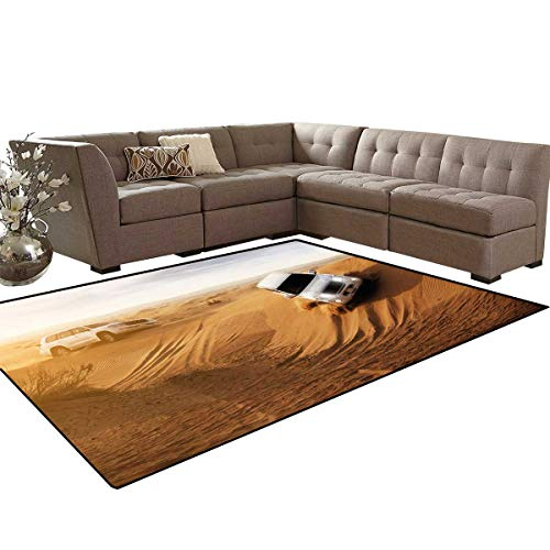 Sports Anti-Skid Area Rugs Race in The African Desert Safari Adventure Exotic Hobby Activity Picture Customize Door mats for Home Mat 6