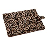 Leopard Print Thermal Cat Mats Beds For Cats Warm Consistant Level Of Warmth