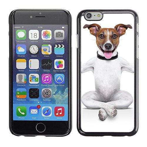 """Premio Sottile Slim Cassa Custodia Case Cover Shell // V00001737 chien de yoga // Apple iPhone 6 6S 6G 4.7"""""""