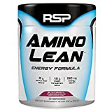 RSP AminoLean – Energized BCAA Amino Acid & Weight Loss Formula to Support Muscle Growth, Recovery, Performance, and Fat Loss, Blackberry Pomegranate, 30 servings
