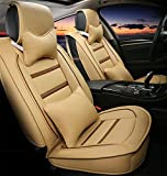 Luxury leather car seats full of sentence 5 programmable seat covers universal fit
