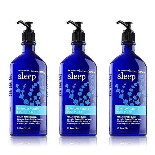 Bath & Body Works Aromatherapy Body Lotion Lavender Vanilla (3-Pack)