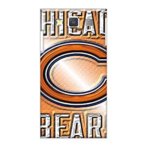 Anti-Scratch Hard Cell-phone Case For Sumsang Galaxy A3 With Unique Design Lifelike Chicago Bears Image Icase88