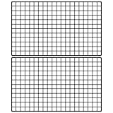 basica Metal Grid Wall Wire Mesh Panel Picture Frame DIY Memo Board Photo Display for Decor, Size 39.4''x23.6'', 2-Pack, Black