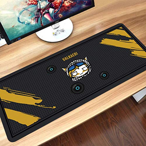 sasdasld Mouse Pad Rubber Cool Rainbow Six Siege Extra Large Anti-Slip Mouse Pads Gamer Desk Keyboard Mat for Computer-300x800mm