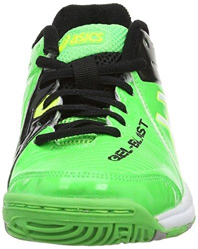 Deportes de Green Asics para de Niño Zapatillas White 8401 para sintético Gel Blast Exterior GS 6 zxWTYqz