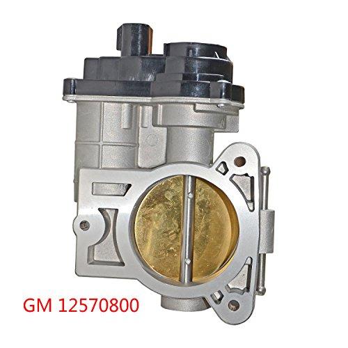 - Throttle Body Assembly V8 Engines for Chevrolet Chevy Express Silverado GMC Savana Sierra Yukon 12570800 217-2293