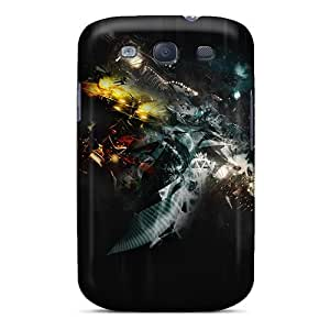 High Quality Abstract 3d Cases For Galaxy S3 / Perfect Cases