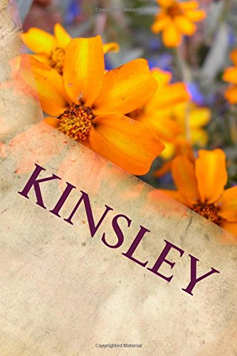 Kinsley: Personalized Name Journal ebook