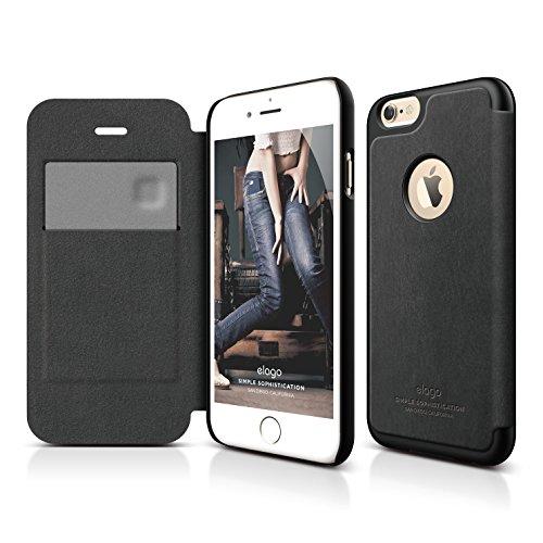iPhone Case elago Leather Black