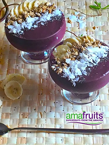Amafruits Acai Berry Puree - Pure & Unsweetened - 144 Smoothie Packs by Amafruits (Image #5)