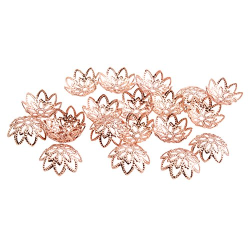 PandaHall Jewelry Making Multi Petal Hollowed