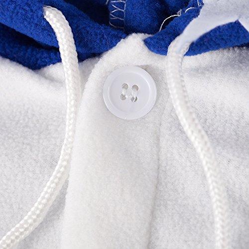 M Panda Bleu Katara Noir Requin blanc Foncé Nuit Tenue Kigurumi Taille Adultes 155 Combinaison 1744Grenouillère 165cm Pyjama De Nm0nw8