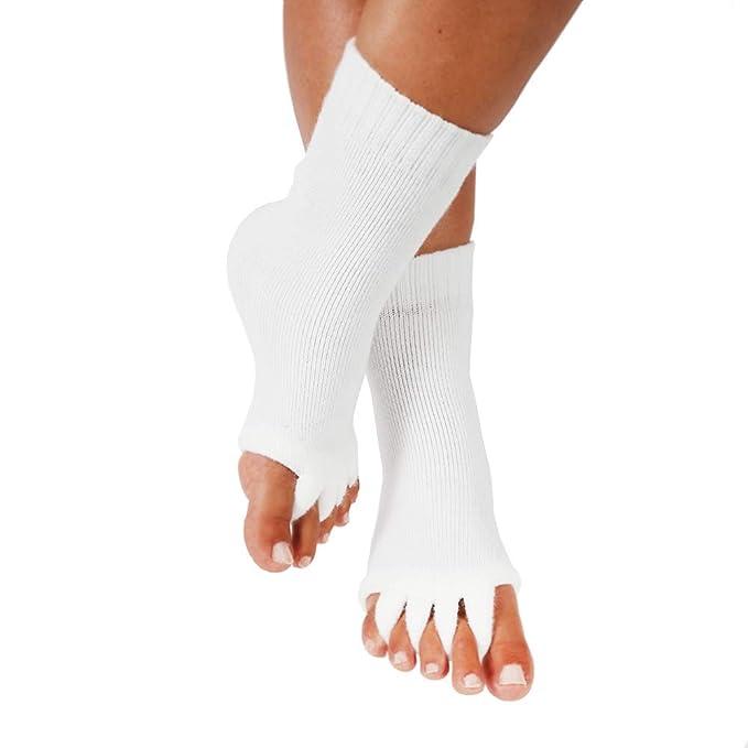 Amazon.com: Calcetines separadores de dedos para yoga ...